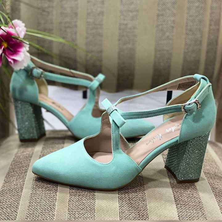 Zapatos novia punta redonda - 1