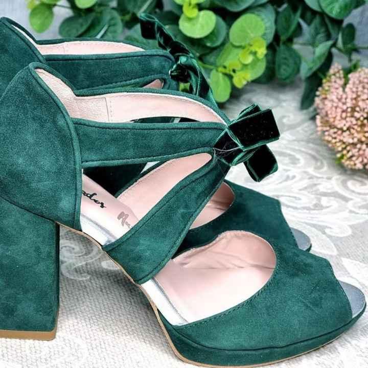 Zapatos novia punta redonda - 2