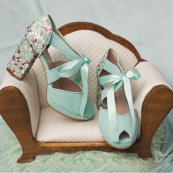 Zapatos novia punta redonda - 3