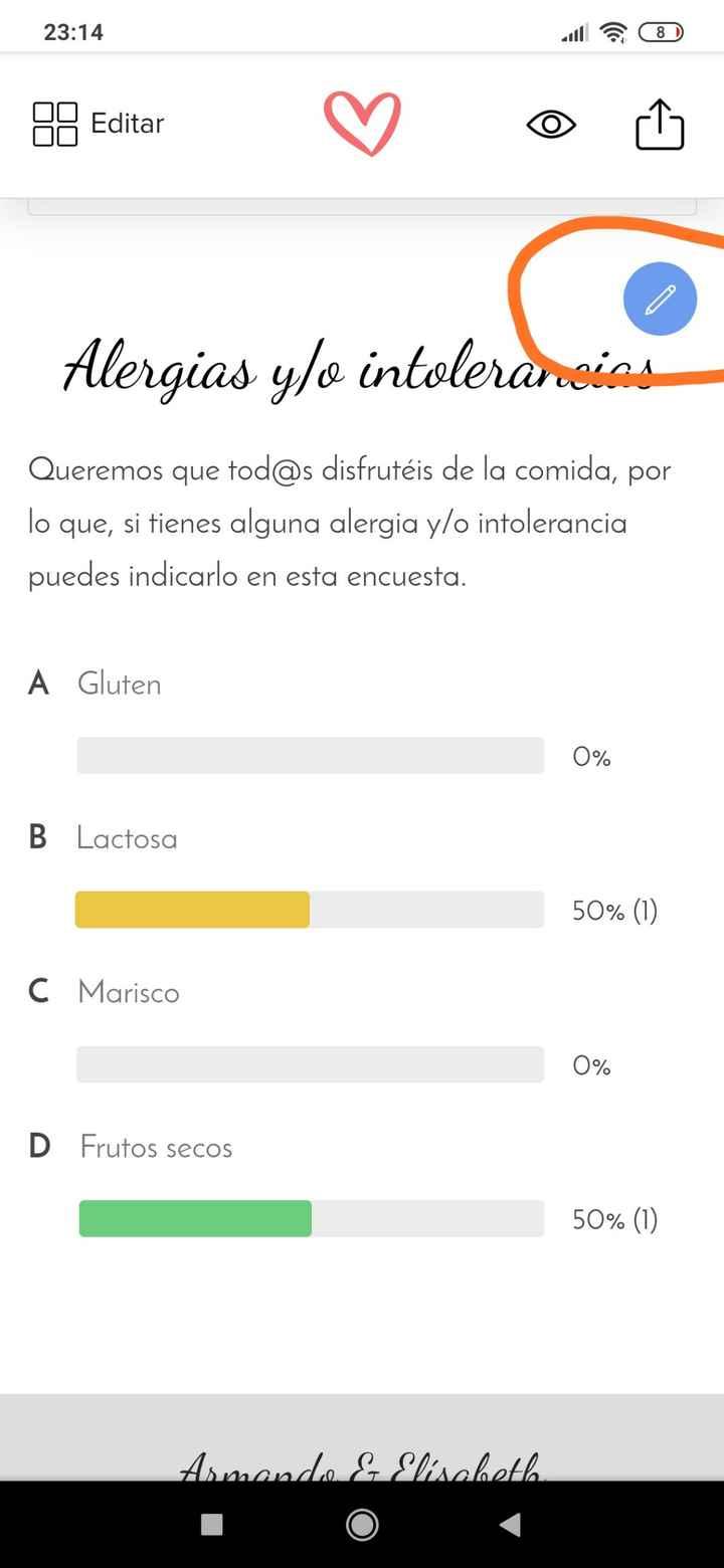 Ayuda encuestas boda - 1
