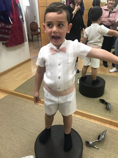 Vestido o trajes para tus hijos o pajes de boda 5