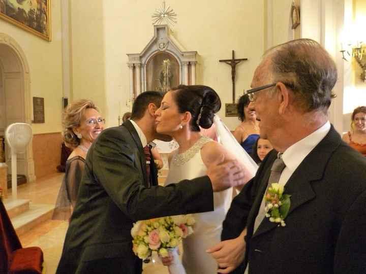 Como saludasteis a vuestro futuro marido en el altar ?  - 1