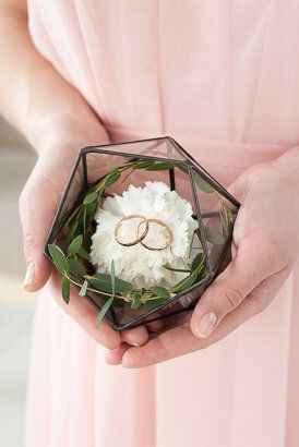 Donde llevaréis los anillos y quién los traerá!? - 1