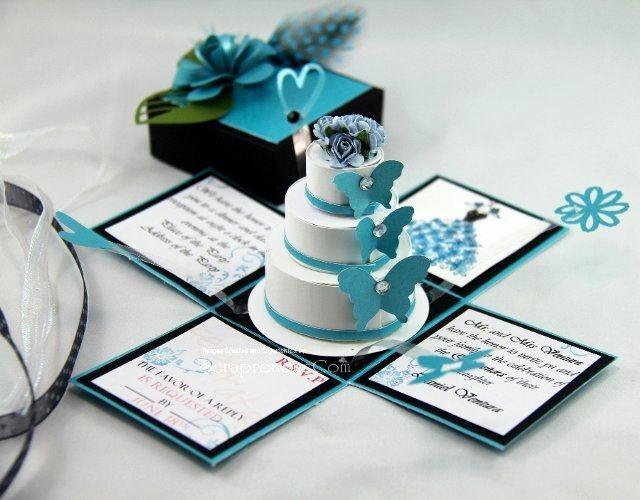 Invitacion original y sorprendente manualidades - Ideas de bodas baratas ...