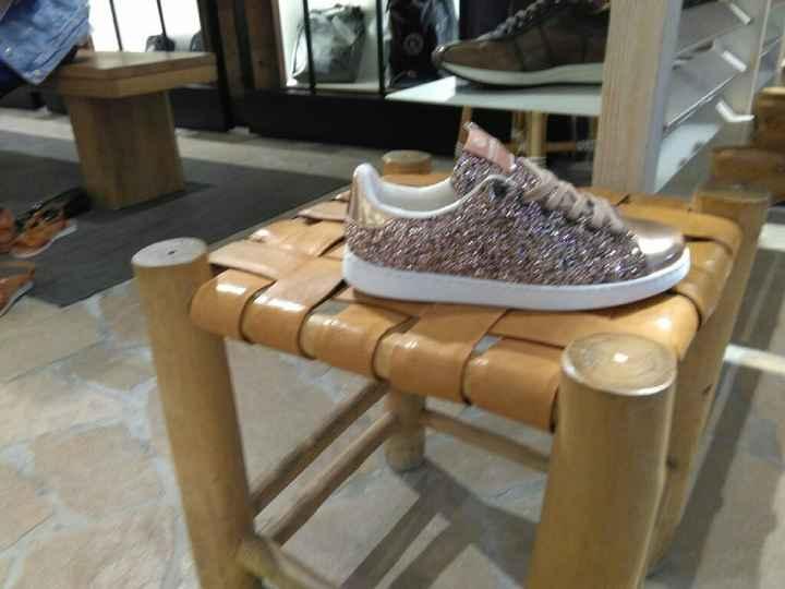 zapatos de novia sin Tacón - 1