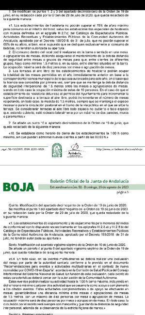 BOJA Andalucía 1