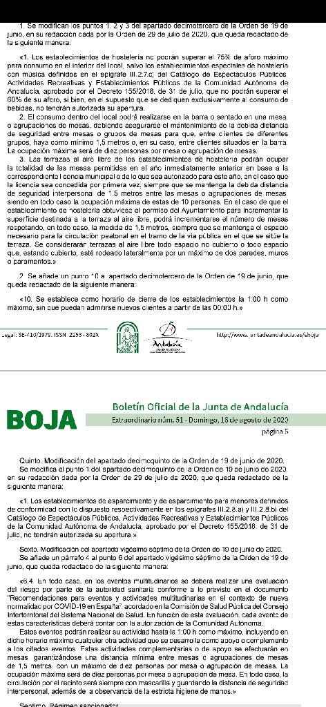 Boja Andalucía - 1