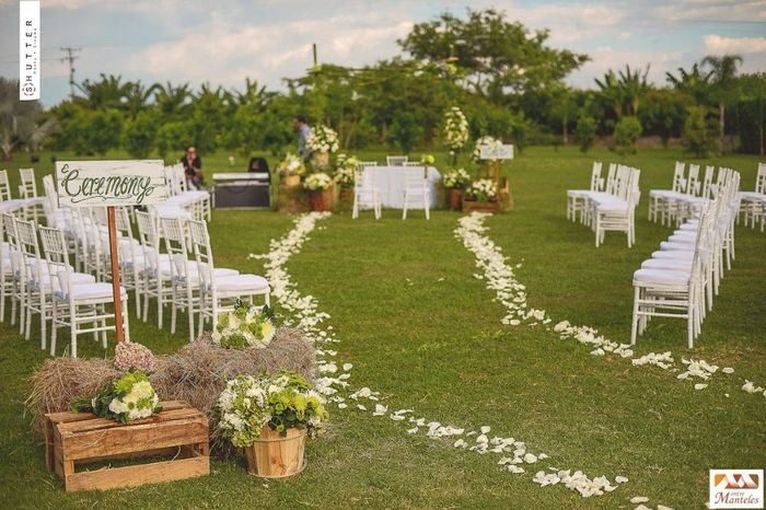decoracion para boda al aire libre organizar una boda