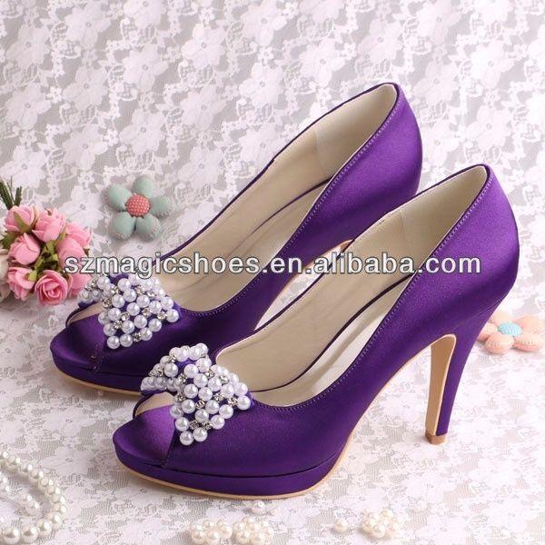 zapatos morados 1