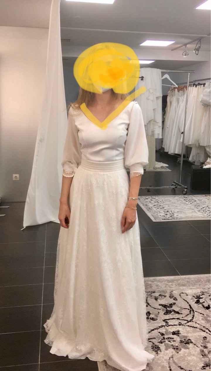 Ayuda Duda en mangas del vestido 👗 - 2