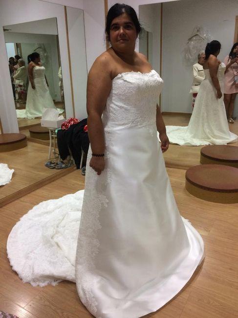Imperdible vestido novia 1