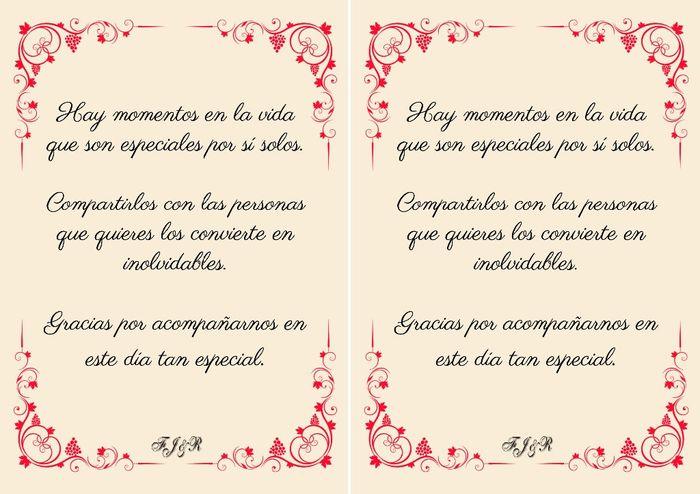 tarjetas agradecimiento organizar una boda foro bodas net