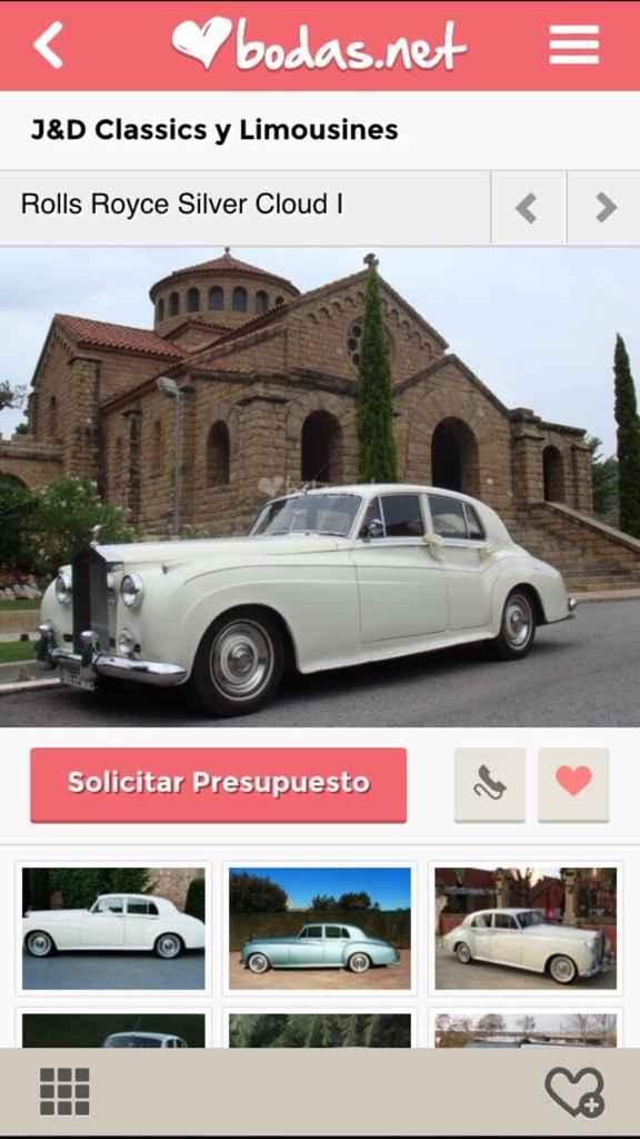 ¿Cómo será tu coche de bodas? - 1