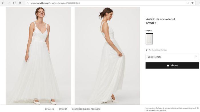 Vestidos novia low cost 10