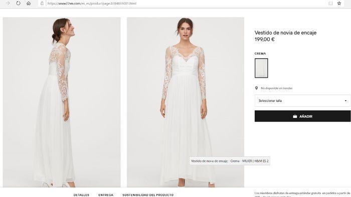 Vestidos novia low cost 11