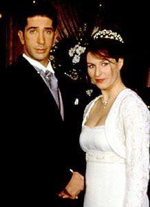 Hablemos de los vestidos de novia y trajes de Friends 1