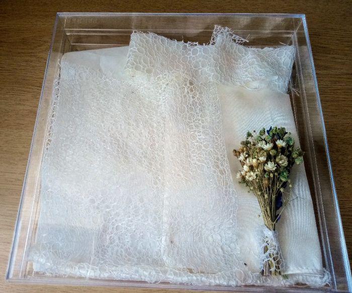 Idea con los trozos del vestido 1