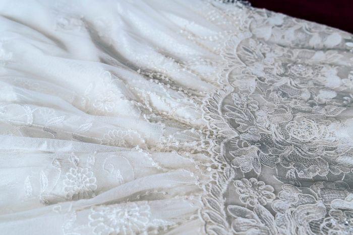 Tipos de telas para el vestido de novia 1