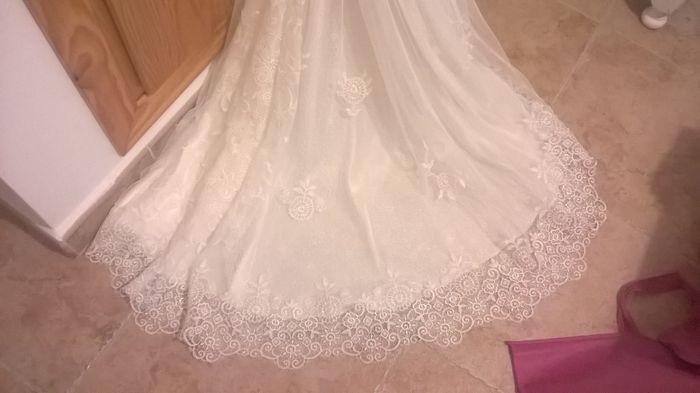 Tipos de telas para el vestido de novia 5
