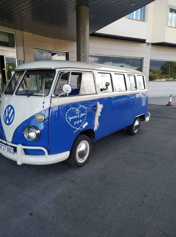 Nuestro coche de boda