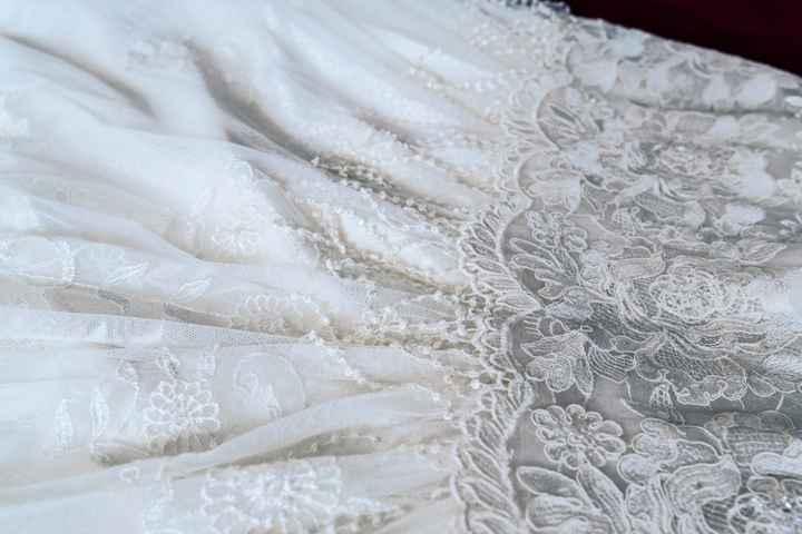Tipos de telas para el vestido de novia - 1