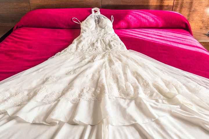 Tipos de telas para el vestido de novia - 2
