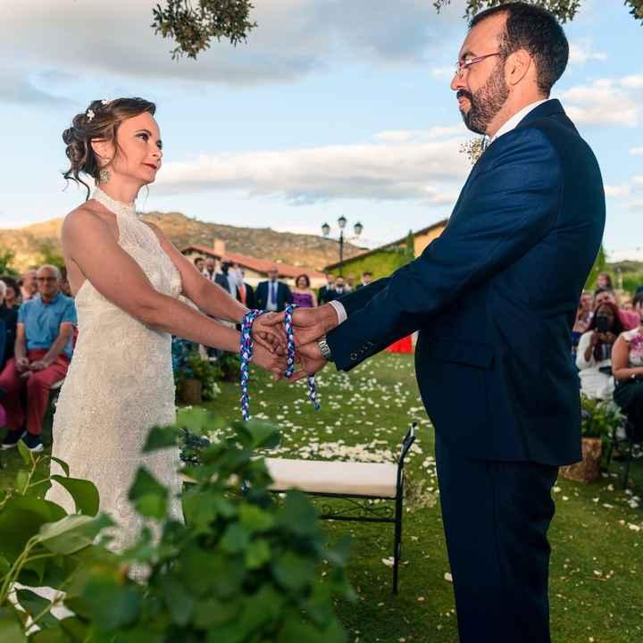 Lazo cremonia  union de manos - 4