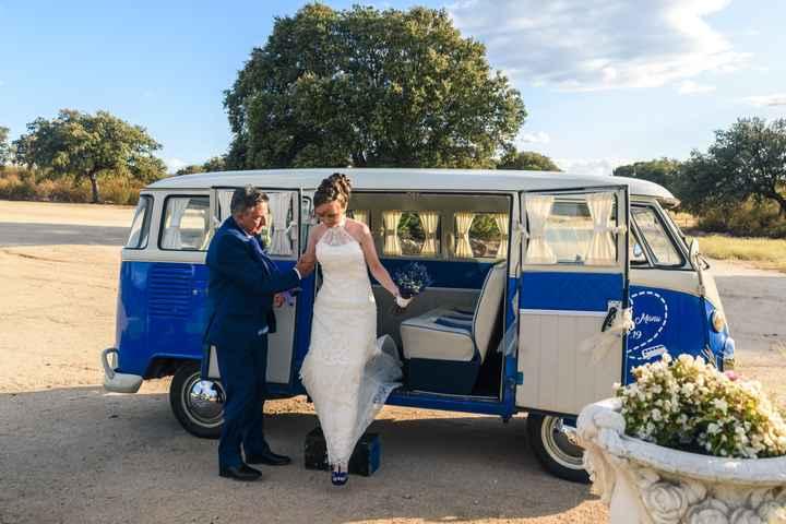Que coche llevará a la novia - 1