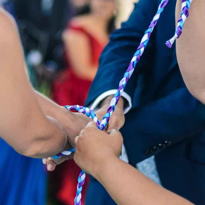 ¿Con qué cinta uniríais vuestras manos? 💜 - 2