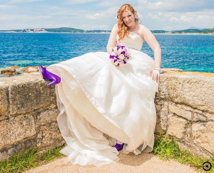 60 ramos de novia en lila, morado, púrpura y violeta! - 2
