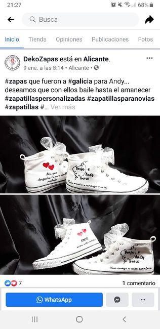 Zapatillas personalizadas novi@s - 1