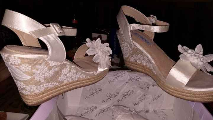 Zapatos novia cómodos - 1