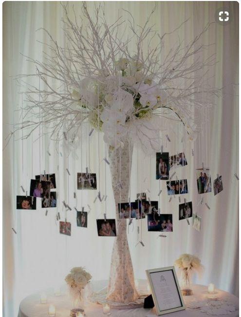 Decorar arbol/tronco para ceremonia 3