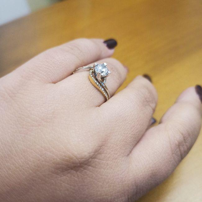 Pongamos todas nuestro anillo de compromiso 4