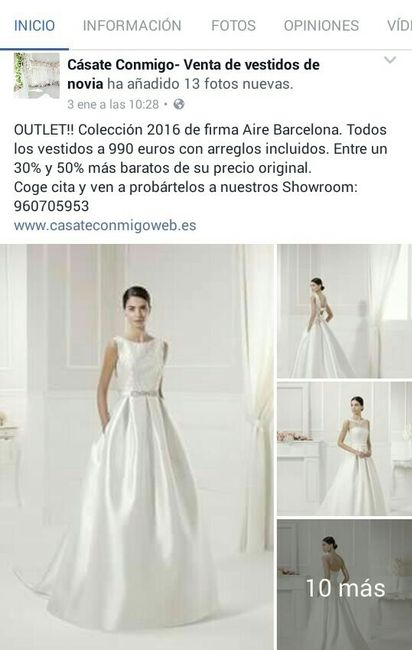 Alquiler vestidos novia barcelona precios
