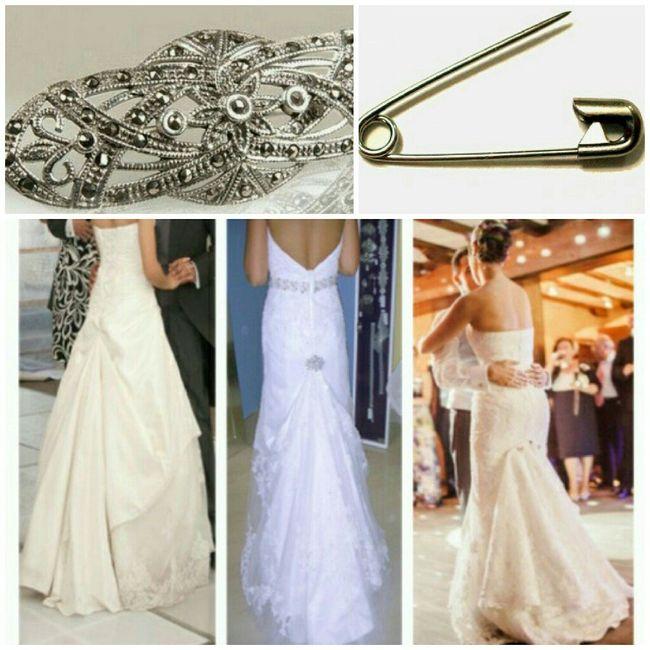 sujetar vestido para baile - moda nupcial - foro bodas