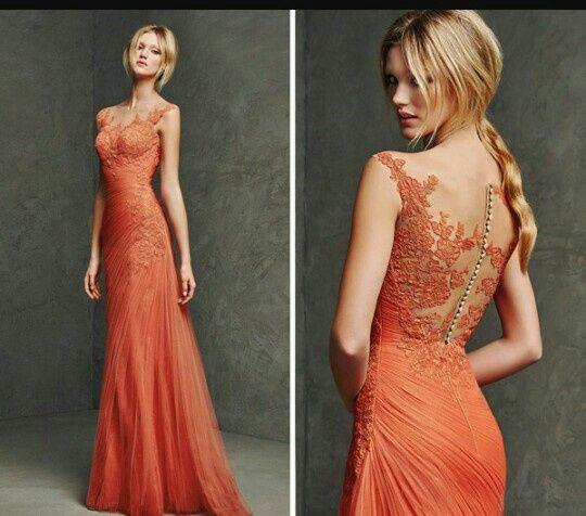 damas de honor de color naranja - moda nupcial - foro bodas