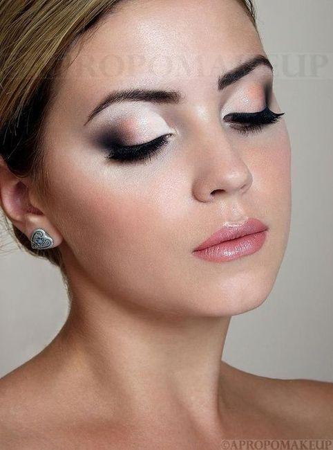 Dramatic Pink Eye Makeup: Varias Propuestas Maquillaje Para Novias
