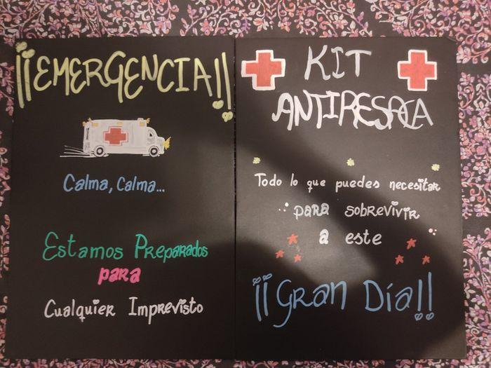 Kit emergencia antiresaca 5