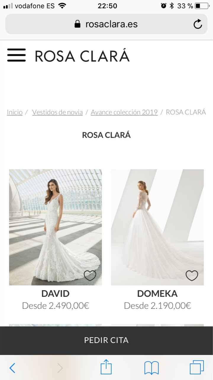 Precios Rosa Clará 2018 - 1
