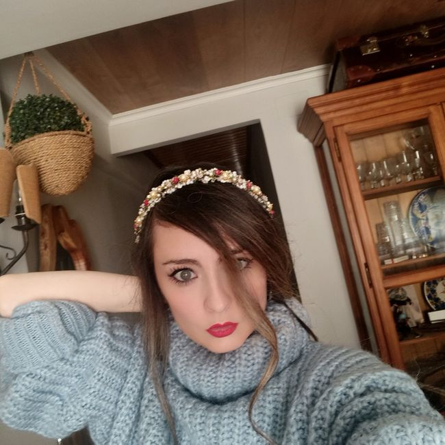 Mi tocado en La Perfecta Julieta  Valencia 4