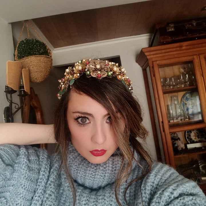 Mi tocado en La Perfecta Julieta  Valencia - 2