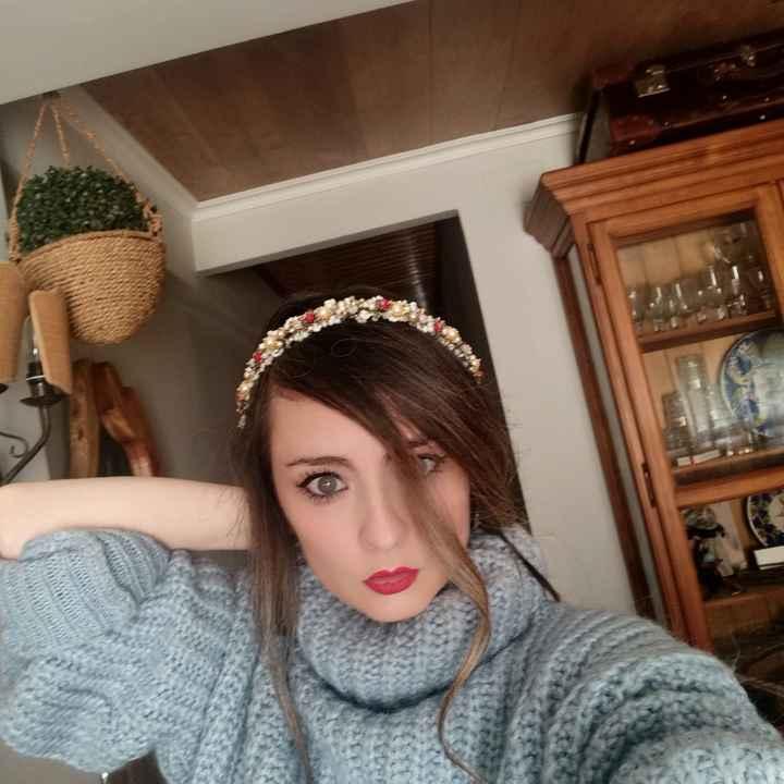 Mi tocado en La Perfecta Julieta  Valencia - 4