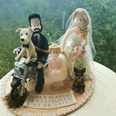 Nuestros muñecos de la tarta - 1