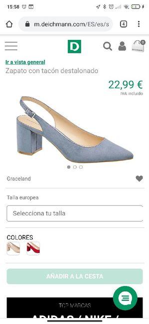 Zapatos celestes 2