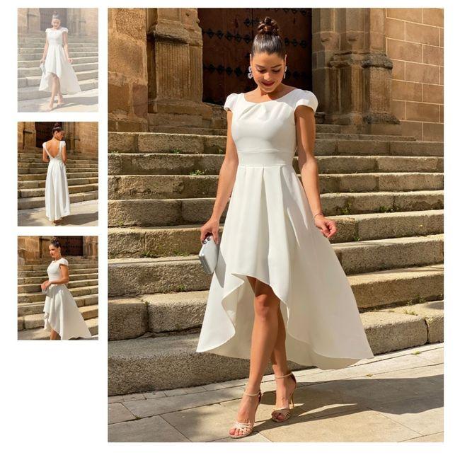 Vestido boda civil 4