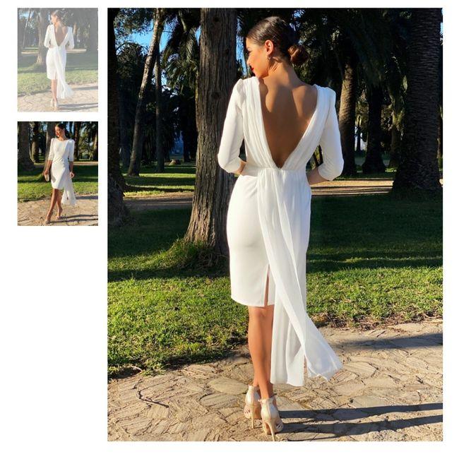 Vestido boda civil 5