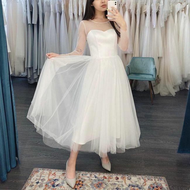 Vestido boda civil 7
