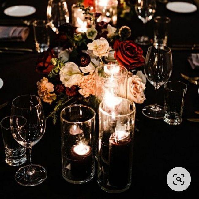 Banquete con toques azules: ¿muy cantoso o acierto? 💙 2
