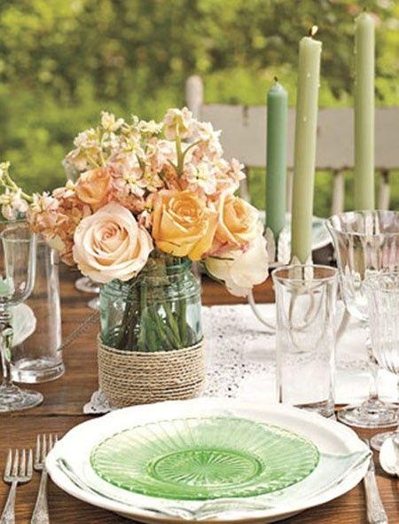 decoración de las mesas tematica vintage. - valencia - foro bodas